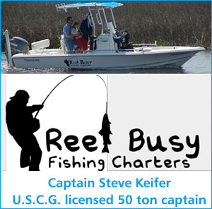 Reel Busy Fishing Charters Oak Island North Carolina