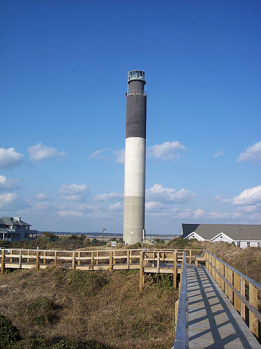 The Oak Island Lighthouse Southport Nc